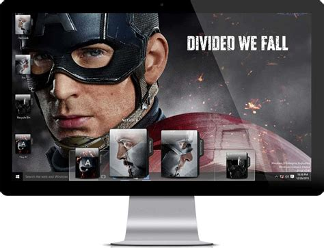 themes for windows 7 civil engineering captain america civil war windows 7 theme