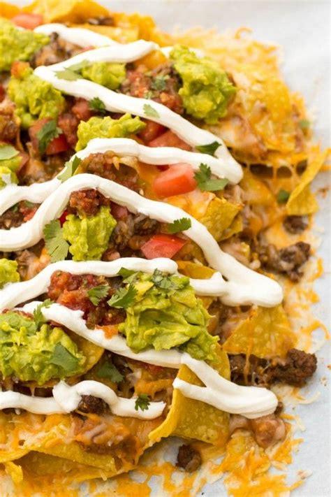 nachos supreme recipe loaded nachos supreme recipe nachos supreme beef and