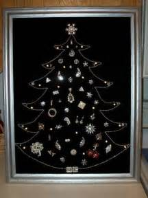 making a costume jewelry christmas tree thriftyfun