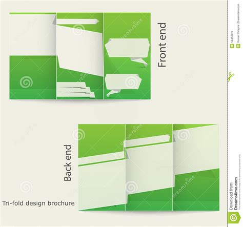architecture brochure templates free tri fold brochure design royalty free stock photos image 34424978