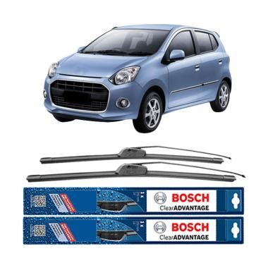 Murah Wiper Bosch 21 Frameless Aerofit Clear Advantage jual bosch new clear advantage frameless wiper for daihatsu ayla 21 dan 14 inch harga
