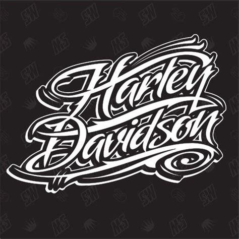 Harley Schriftzug Aufkleber by Harley Davidson Schriftzug Version 1 Fan Sticker