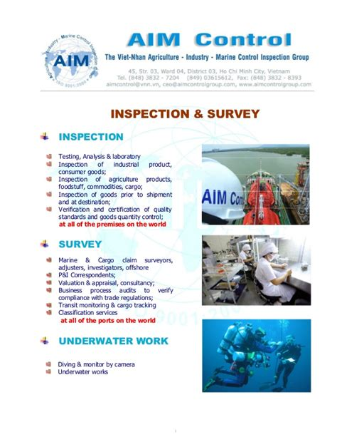 marine survey template marine survey cargo inspection asia global