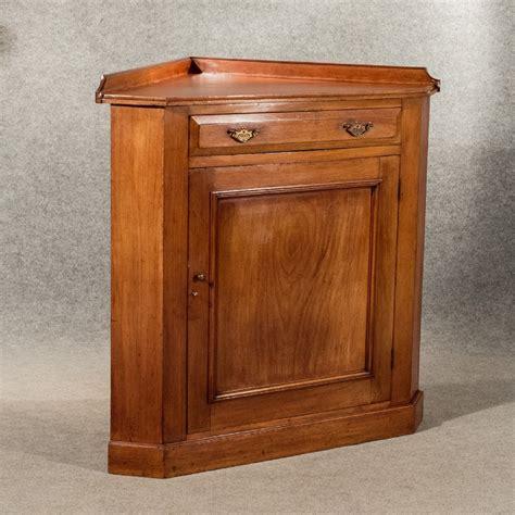 antique corner cupboard display cabinet floor standing