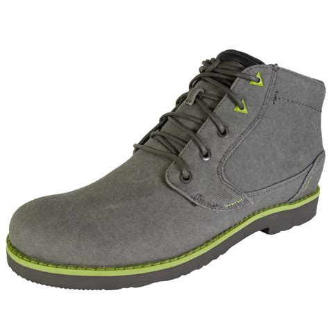 teva mens durban waxed canvas chukka boot shoes ebay