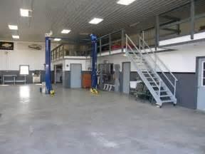 Garage Shops Shop Interior With Office Kitchen And Bath