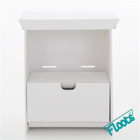 Small White Drawer Unit Eco Small Drawer Unit Eco Floots Cardboard Furniture