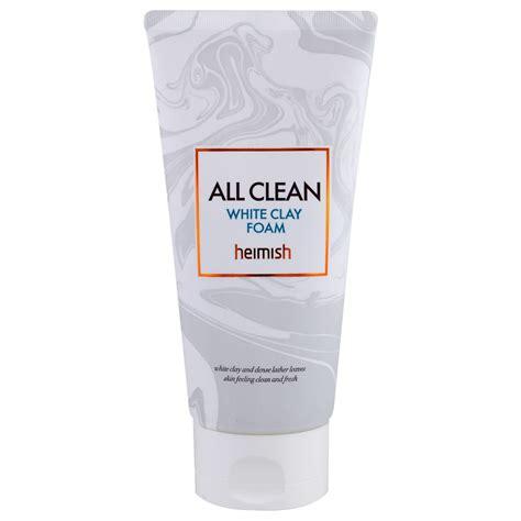heimish all clean white clay foam heimish all clean white clay foam kbeauty original
