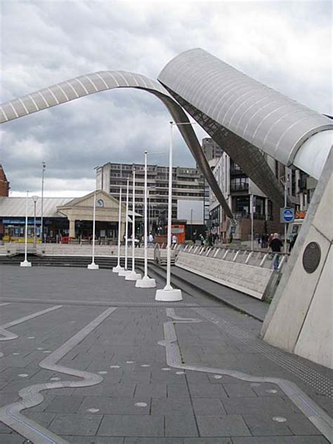 whittle arch  glass bridge coventry uk