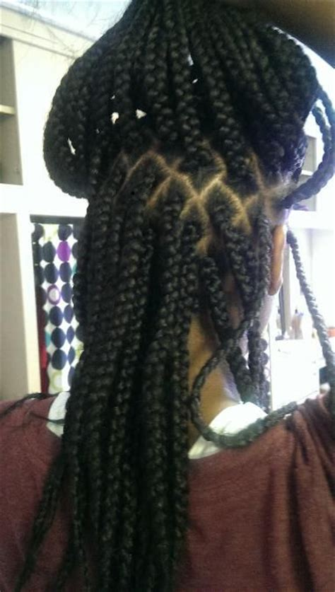 parting for box braids pinterest the world s catalog of ideas