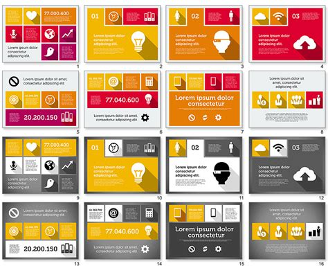 graphic design powerpoint presentation eye catching powerpoint presentation projetos para