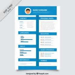 resume timeline template blue timeline resume vector premium