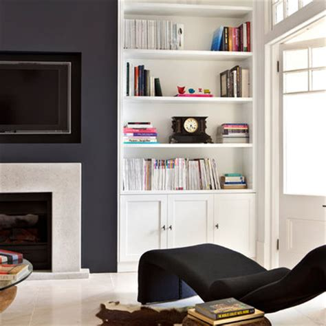 built in storage living room monochrome ideas for the home colour scheme for rooms