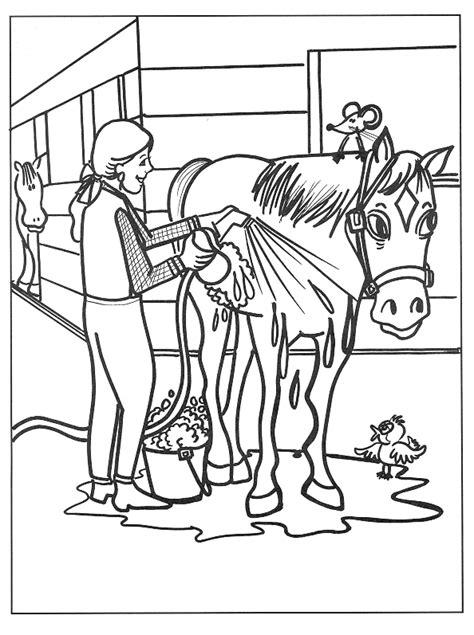 horse trainer coloring page kleurplatenwereld nl gratis dieren paarden kleurplaten
