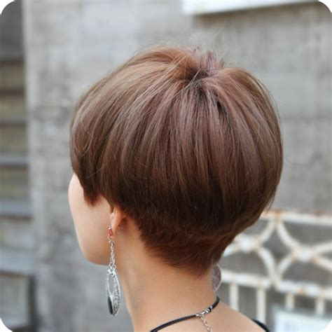 short gray hairstyles with wedge in back wedge hair pictures back view html autos weblog