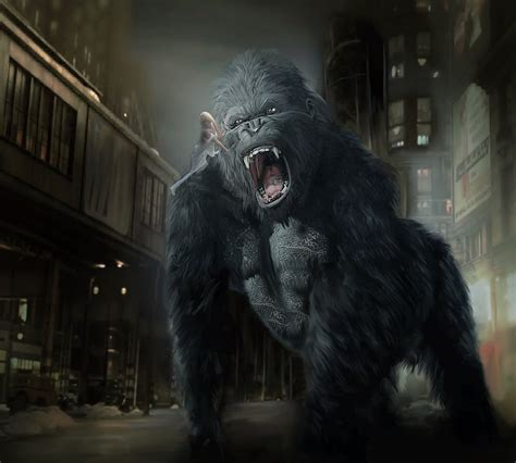imagenes graciosas de king kong kingkong by deniseworisch on deviantart
