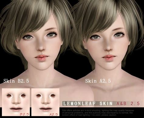 sims 3 cc skin color my sims 3 blog revision sims3 skin a b2 5 by lemon leaf
