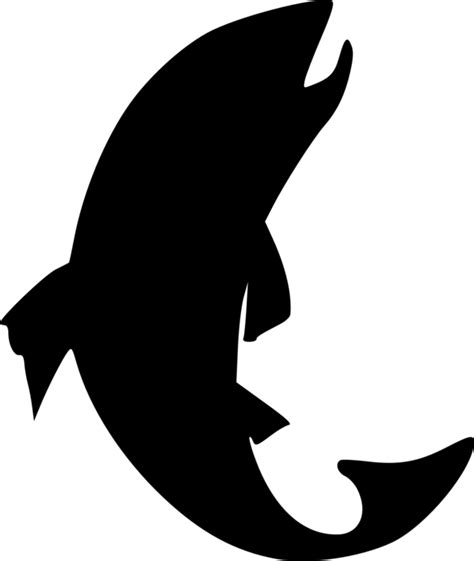Silhouette Clip Free by White Fish Silhouette Clipart Clipart Suggest