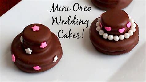 mini cake wedding favors wedding cakes pink cake box mini oreo wedding cookie cakes diy wedding favors youtube