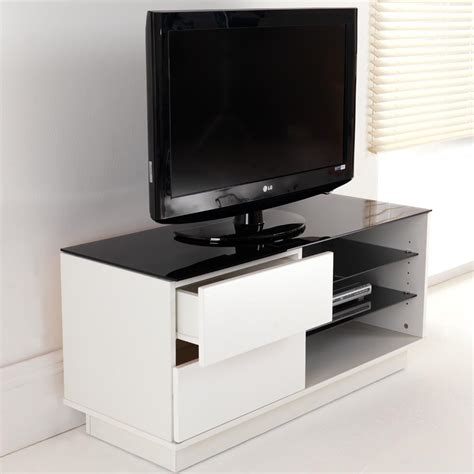 tv stand with drawers and shelves white gloss two drawer glass shelf lcd plasma tv stand cabinet 32 42 inch