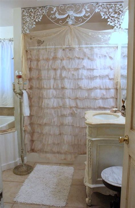 shabby chic bathroom curtains 52 ways incorporate shabby chic style into every room in your home