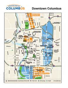 Map Of Downtown Columbus Ohio by Parking Columbus Ohio Pride Festival