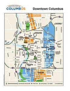 columbus ohio on us map images