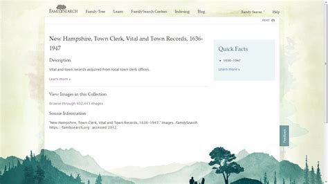 New Hshire Records Search Genea Musings Familysearch Has New Hshire Town Clerk Records