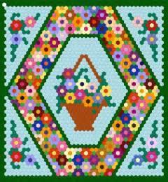 Patchwork Block Patterns - hexagon patchwork patterns www imgkid the image