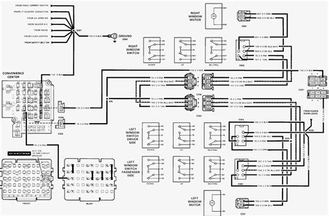 power window wiring diagram chevy 2001 chevy silverado