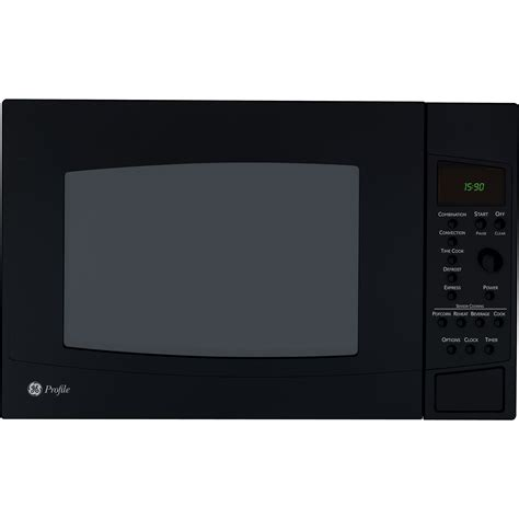 Ge Convection Microwave Countertop ge profile peb1590dmbb 1 5 cu ft countertop convection microwave oven black sears outlet