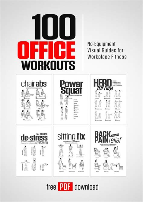 Office Workouts At Desk Best 25 Office Workouts Ideas On