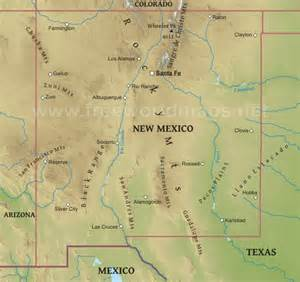 us map new mexico new mexico maps