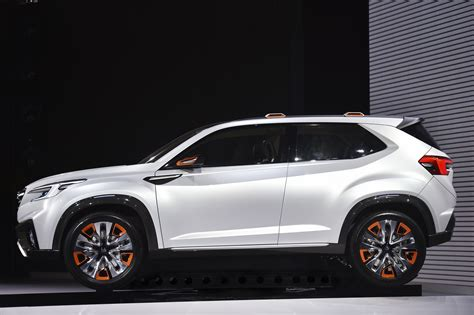 New Subaru Crossover 2018 by Subaru S New 3 Row Crossover That Replaces Tribeca Is