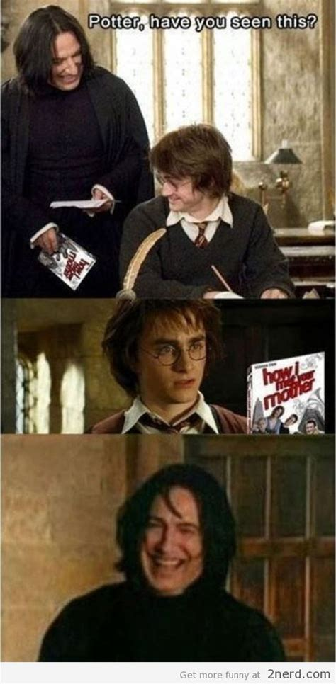 Funny Harry Potter Meme - snape got jokes2 nerd 2 nerd2 nerd