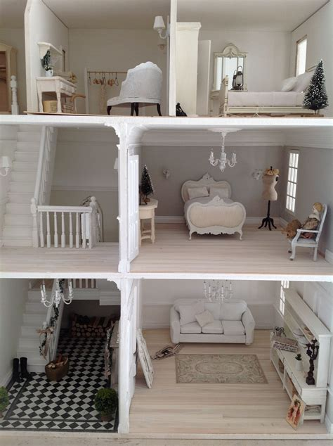 themes in a doll s house beautiful white creative house dolls creativ on diy barbie