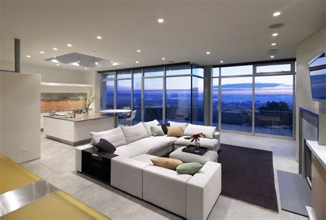 dream living rooms modern house revista de arquitectura y dise 241 o peruarki 187 casa oakland