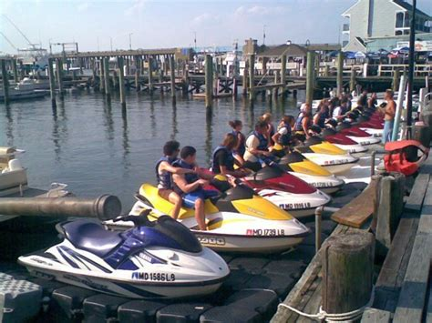 boat rentals north nj jet skiing ocean city cape may new jersey usa