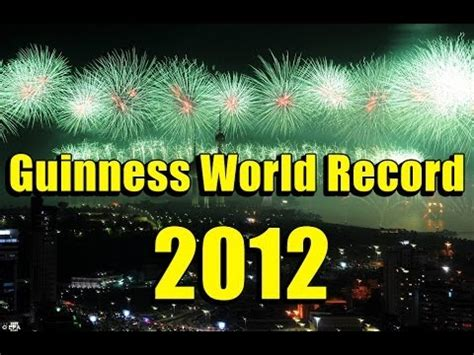 guinness world records 2012 1904994687 largest firework show in the world guinness world record 2012 kuwait youtube