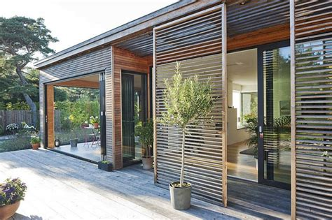 sliding doors with built in blinds in pueblo co modern residence in sweden by johan sundberg projekt byn