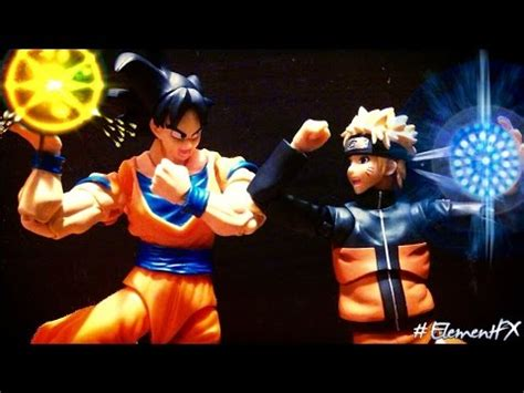 film naruto vs dragon ball z dragon ball z stop motion goku vs naruto vidoemo