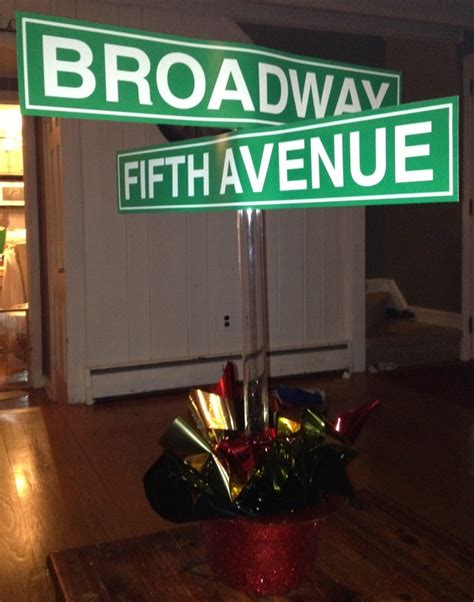 centerpieces new york themed events broadway new york