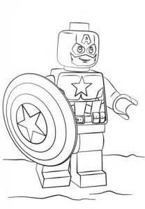 Coloriage captain america lego coloriages 224 imprimer gratuits