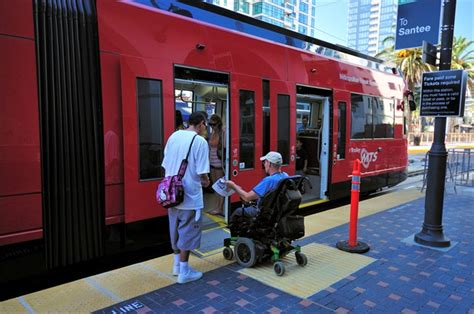 L Post District San Diego by San Diego Mts Stepping Up Wheelchair Priority Seating
