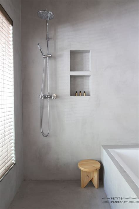 plaster for bathroom walls 25 best ideas about concrete shower on pinterest