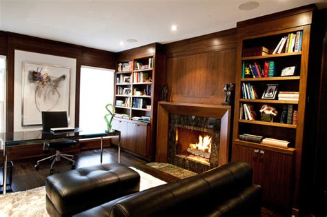 home office library houzz office library