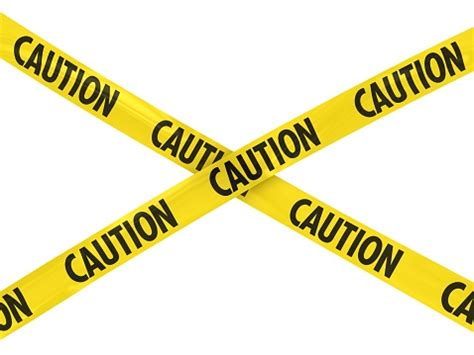 caution tape vector clip art library