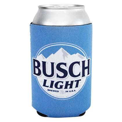 busch light new can beer can coolers wearyourbeer com