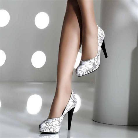 black and white high heel sandals kaiser nixe black and white high heel court shoes
