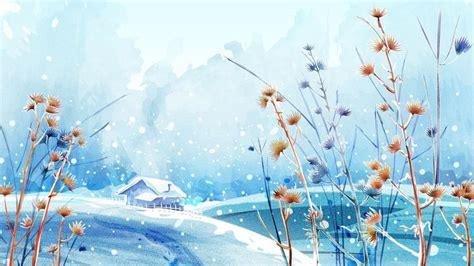 winter anime wallpaper hd anime winter scenery wallpaper get free top quality